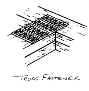 truss fastener home hardware