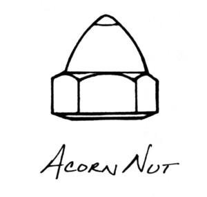 Acorn+nut